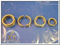 Hauptlagersatz Typ4 1,7-2,0L Gehäuse 0,50 Std 21mm Bund Silverli