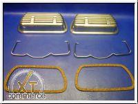 Ventildeckelsatz Typ1 34-50PS Alu poliert inkl. Spangen