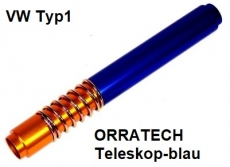 Stößelschutzrohre Typ1 Teleskop blau