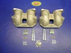 Saugrohre Typ 4-Motore für Weber kurz  für 48IDF 3 Bolzen