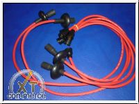 Zündkabelsatz Typ1 rot Silikon Kupfer