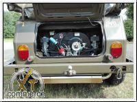 Auspufftopf Typ181 für VW-Kübel Edelstahl