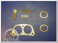 Anbausatz Wärmetauscher Typ4 1,7-2,0L `68 -`78