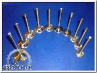 Ventil Typ1 Motor 37,5mm 8mm Schaft Edelstahl