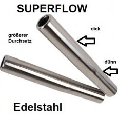 Endrohre Typ1 Edelstahl SUPER FLOW