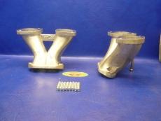 Saugrohre kurz Typ 1-Motore für Weber IDA 48mm