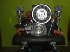 Komplettmotor Typ4 2000ccm 115PS Turbine-Look
