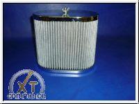 Luftfilter für Weber Paar Chrom 150mm extra hoch