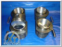 Typ 4 Kolben und Zylinder 90 x 66 mm 1,7L flat Top