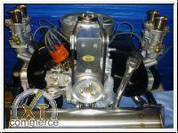 Komplettmotor Typ4 2100ccm 125PS liegendes Gebl.