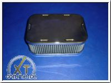 Luftfilter für Weber Paar Chrom 60mm eckig