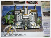 1 Paar Weber Doppelvergaser 40 IDF 70 OS