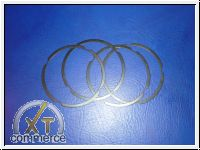 Zylinder-Unterlegringe für 90,5 und 92 Stärke 0,50mm