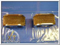 Luftfilter für Weber Paar Chrom 80mm
