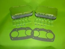 Luftfilter für Weber Paar Chrom 40mm