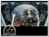 Plus 12 PS Weber Doppelvergaseranlage inkl. 009 Verteiler