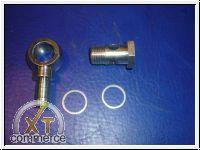 Hohlschraube Ringstutzen M18x1,5mm für 12mm Schlauch
