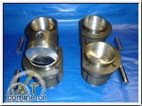 Typ1 Kolben und Zylinder 1300ccm 77x69mm Mahle