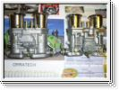 1 Paar Weber-Doppelvergaser 44 IDF 71 Standard