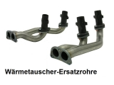 Krümmerrohre Typ 4 für Bulli Edelstahl  für CU-Motor