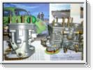1 Paar Weber Doppelvergaser 40 IDF 70 Standard